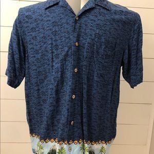Cherokee Waikiki Wear Hawaiian Shirt Size Large
